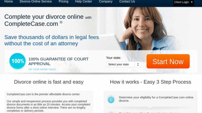 completecase uncontested divorce online
