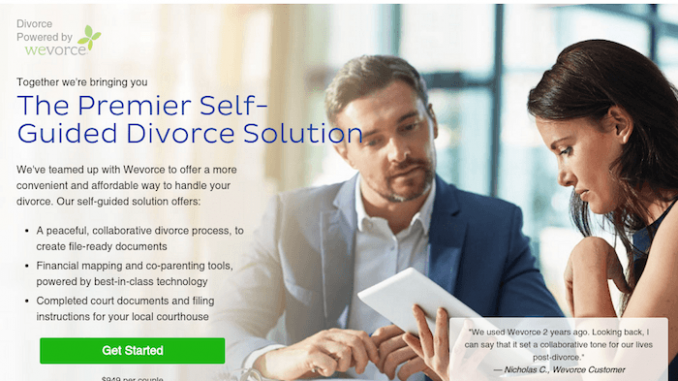 Wevorce online idssolution service