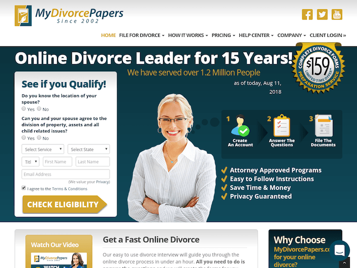 The Best Online Divorce Service Reviews 2019: Obtain Your